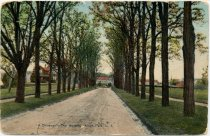 Image of 'A Driveway', The Hospital, Kings Park, L. I.  - Postcard