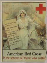 Image of American Red Cross: In Service of Those Who Suffer - Poster, Political