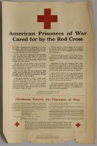 Image of American Prisoners of War Cared for by the Red Cross - Poster, Political