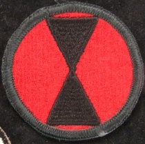 Image of 1986.025.0050 - Patch, Military