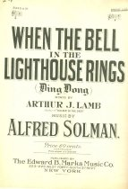 Image of When The Bell sheet music, front