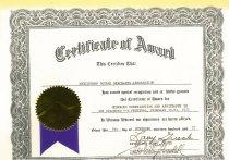 Image of 2008.032.0864 - Certificate, Achievement