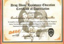 Image of 2008.032.0866 - Certificate, Achievement