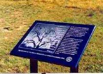 Archaeological Sites, Tollgate creek Plaques, Commemorative