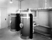 KOA interior, plumbing equipment