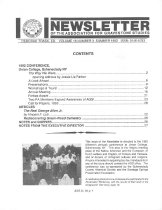 Image of Newsletter of the Association for Gravestone Studies Volume 16, Number 3, Summer 1992 - The Association for Gravestone Studies