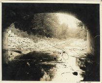 Image of Creek view from tunnel - Print, Photographic