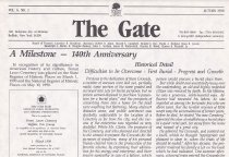 Image of The Gate: Vol. 6, No. 2 - Forest Lawn