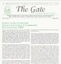 Image of The Gate: Vol. 13, No. 2 - Forest Lawn
