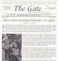 Image of The Gate: Vol. 15, No. 1 - Forest Lawn