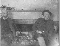 Image of Hiram Kelsey Hobbs and Albion Gordon - 1974.02.0011