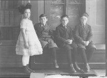 Image of Lola, Charles, Adelbert and John Shirley Gerry - 1974.02.0030