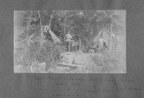 Image of Camping on Rattlesnake Island, Early 1890's - 1974.02.0481