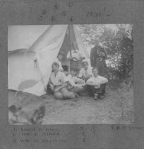 Image of Camping on Kezar Lake, Early 1890's - 1974.02.0482