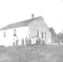 Image of Schoolhouse at No. 4, Fall 1902 - 1986.01.0006
