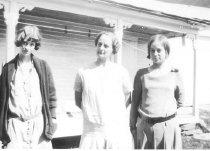 Image of Pearl (McKeen) McAllister, Ella (Jackson)McKeen and Ina (McKeen) Stearns - 2003.02.0010