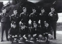 Image of Erwin Hodsdon and his WWII Bombing Crew - 2012.11.0001