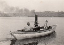 Image of Wilkie & Fred Semple Aboard a Steamboat - 2015.06.0003