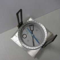 Image of Charvoz Staff Compass and Case   - Compass