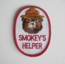 Image of Smokey's Helper Patch - Patch, Insignia