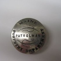 Image of Patrolman Maine Forestry Department Badge - Badge, Insignia