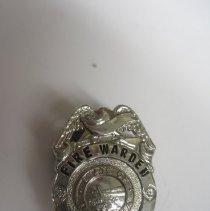 Image of Montana Fire Warden Badge