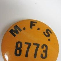 Image of M. F. S. 8773 Pin - Pin, Lapel