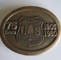 Image of 75 Anniversary Belt Buckle