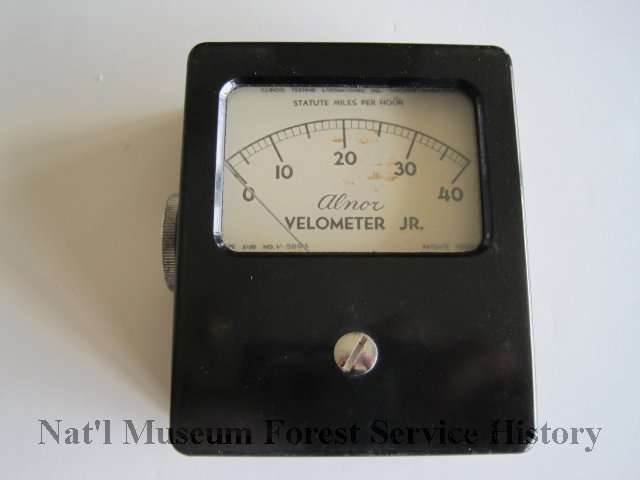 Alnor Velometer And Leather Case