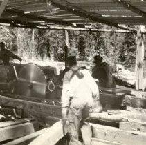Image of Kinshella Tie Mill near Lupfer Montana - 2006.009.234