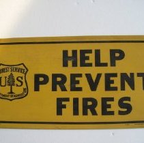 Image of Fire Prevention Paper Sign - Sign, Instructional