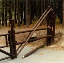 Image of Broken Gate at Pattee Canyon Recreation Area - 2012.087.423