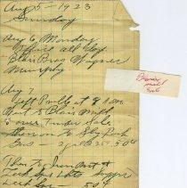 Image of Edwin F. Smith Diary