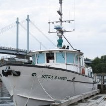Image of Sitka Ranger Boat, Bow View - 2011.005.018