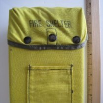 Image of Fire Shelter for Fire Fighters - Equipment, Forestry Safety