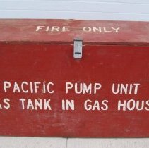 Image of Pacific Marine Pump Fire Cache Box - Box, Packing