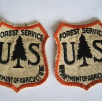 Image of Forest Service Shield Cloth Uniform Patch - Patch, Insignia