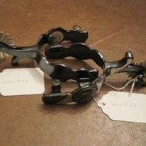 Image of Commemorative Cowboy Spurs for National Forest Centennial - Spur