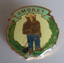Image of Smokey Bear Lapel Pin - Pin, Lapel