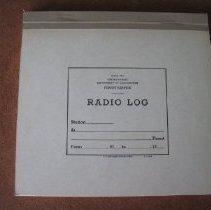 Image of Radio Log Book - Log, Radio