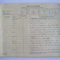 Image of 2009.4.223 Inside Log Book