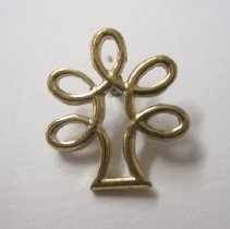 Image of Forest Service Multiple Use Symbol - Pin, Lapel