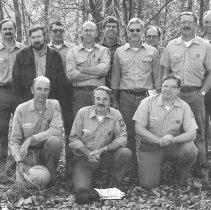 Image of Monongahela National Forest Supervisor & Staff October 1982 - 2004.005.029