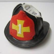 Image of Firefighter Hat Figurine - Figurine