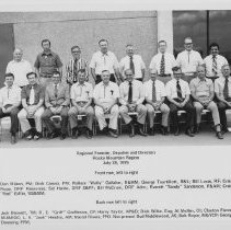 Image of Regional Forester, Deputies and Directors Rocky Mountain Region  1975 - 2004.057.078