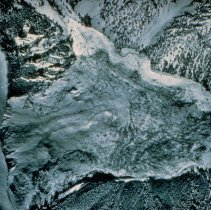 Image of Aerial Photo View of Slide Area after Earthquake - 2004.058.006ab