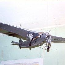 Image of Model Ford Trimotor Airplane - Toy, Airplane
