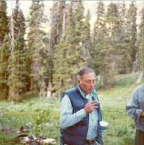 Image of A Group Member Weminuche Wilderness Area - 2004.057.174