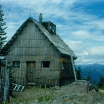 Image of Summit Prairie Lookout, old house - 2007.007.052B