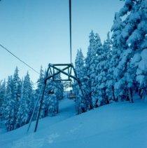 Image of Hoodoo Ski Bowl - chair lift - 2007.007.040G